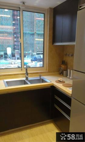 家庭装修小厨房设计效果图
