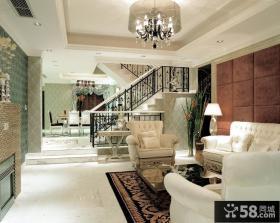 欧式小别墅客厅图片大全