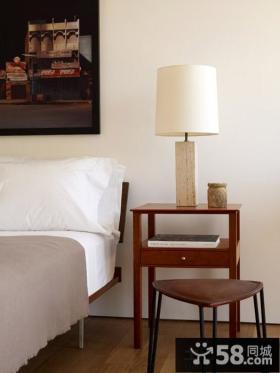 极简主义风格卧室床头灯具效果图