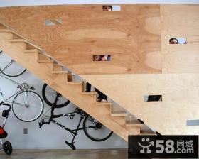 复式房子室内楼梯装修图片