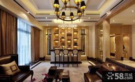 现代风格两室一厅精装修效果图大全2014