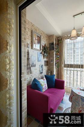 休闲生活阳台设计装饰