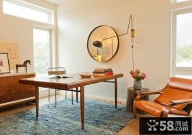 中式书房装修效果图 书房装修效果图大全2012图片