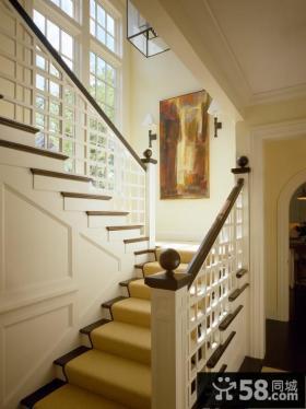 室内楼梯扶手图片欣赏