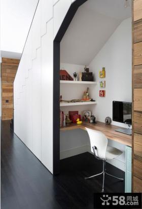家庭办公室节约空间设计