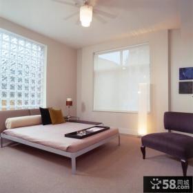 70平米小户型现代简约卧室装饰效果图