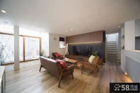100平北欧原木复式家装案例
