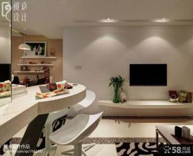 客厅墙面漆液晶电视机背景墙