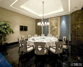 中式新古典风格餐厅图片大全