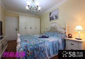 欧式地中海混搭风格卧室装修效果图