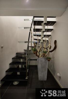 小户型跃层楼梯装修效果图大全