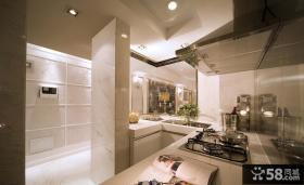 法式大户型厨房装修设计图片