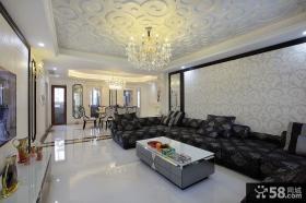 客厅天花吊顶设计