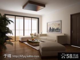 2013新中式客厅装修效果图