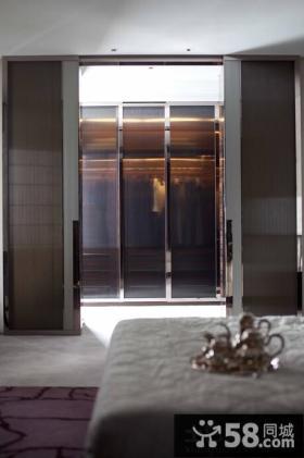 现代装修设计卧室门图片欣赏