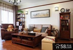 中式小户型客厅装修与设计
