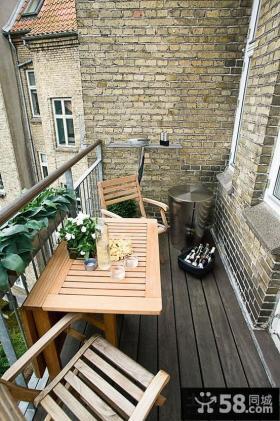 室内小阳台护栏效果图