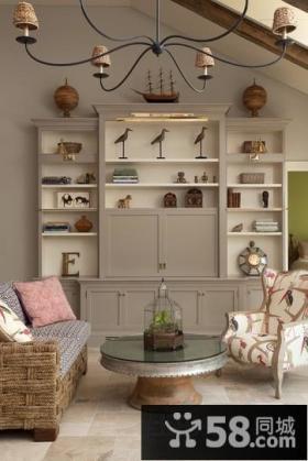 小复式楼客厅装修效果图片