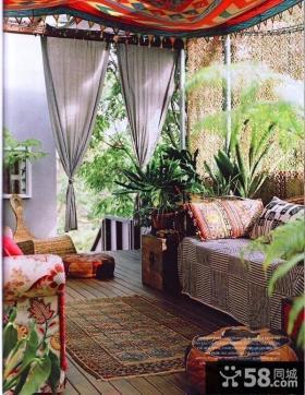 阳台软装饰