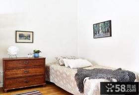 复古欧式公寓卧室设计装饰图片