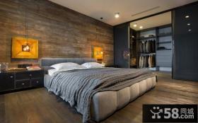 复古欧式风格卧室设计效果图