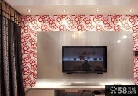 时尚现代电视背景墙效果图