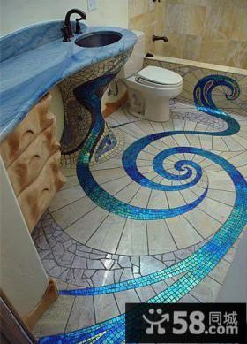 创意地中海风格卫浴图片