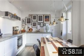 后现代设计厨房装饰效果图片