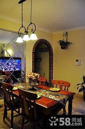 餐厅美式田园家具图片