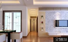 优质客厅走廊玄关装修效果图大全2013图片欣赏