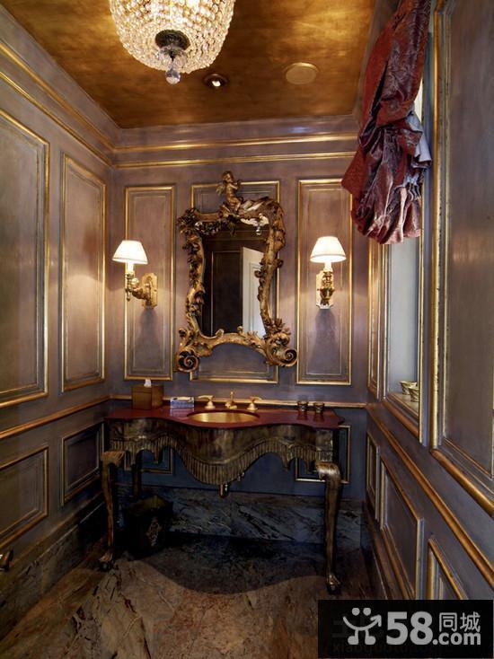 洛可可风格室内装饰效果图片