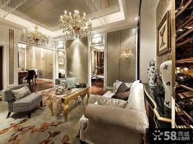 精致奢华欧式客厅装饰设计