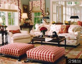 客厅美式田园家具图片