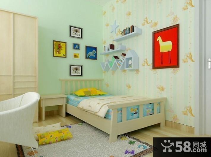 小戶型兒童臥室裝修效果圖大全2013圖片