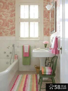 小户型家庭浴室装饰效果图