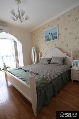 欧式田园卧室壁纸装修效果图大全