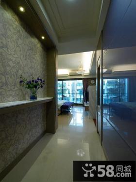 现代复式室内过道装饰图片