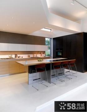 农村小户型别墅开放式厨房图片
