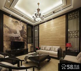 新古典中式客厅装潢装饰