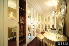 家装步入式衣帽间设计效果图片