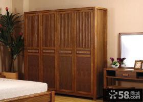 中式装修风格衣柜图片