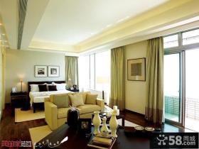 现代简约风格别墅卧室装修效果图欣赏