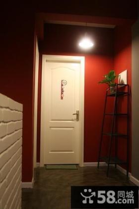 小户型进门玄关装修效果图大全2013图片