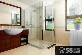 现代风格浴室装修效果图欣赏