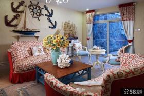 地中海风格设计别墅室内装修效果图
