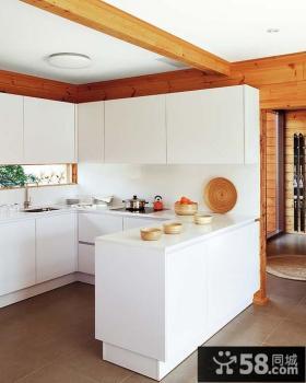 2013敞开式厨房吧台装修效果图