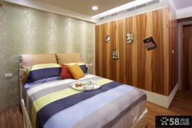 2014现代日式家庭设计卧室效果图