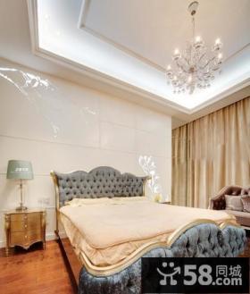 欧式卧室吊顶装修效果图大全2013图欣赏