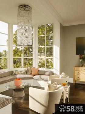 客厅改飘窗设计效果图