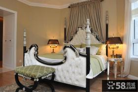 新古典复式家居卧室图片欣赏